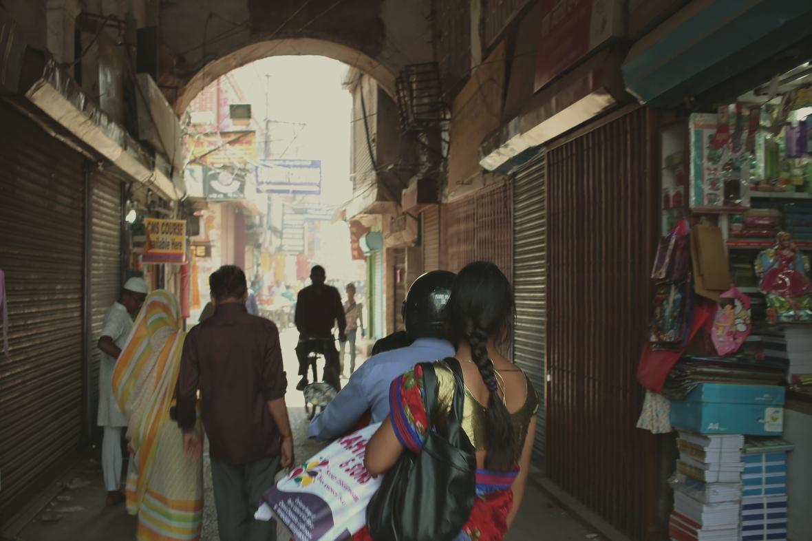 Dans les rues de Lucknow
